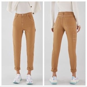 NWT. Bershka contrasting relaxed fit jeans Size XS